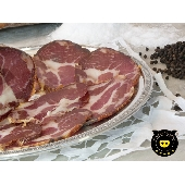 Capocollo Pig black  of Calabria