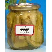 In Olivenöl eingelegte Artischocken mit Stiel - Arconatura