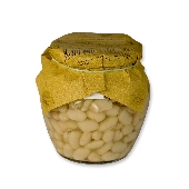 Fagioli cannellini al naturale - weiße naturbelassene Bohnen - 500 gr (360 gr peso sgocciolato)