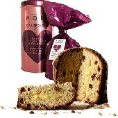 Panettone Grappolone mit Rosinen und Grappacreme mit Moscato Grappa der Marke Poli