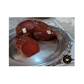 'Nduja vom kalabrischen schwarzen Schwein (Suino Nero di Calabria)