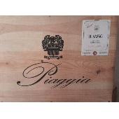 Piaggia- Il Sasso Carmignano DOCG 2007 6 Flaschen Kiste