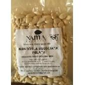 Geschälte und geröstete Mandeln aus Sizilien - Nama Mandorle