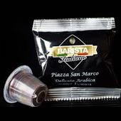 Kompatibel Espresso Kaffekapseln Delikat Arabica Piazza San Marco - Barista Italiano
