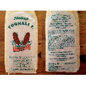 Farina Integrale di  Granturco spinato rosso con fibra di germe macinata a pietra - Molino