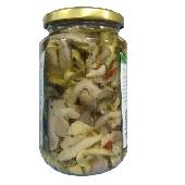 Pilze gemischt mit Calabrese - Calabria Scerra