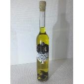 W�rze aromatisiert mit wei�em Tr�ffel, hergestellt aus nativem Oliven�l extra mit Tr�ffelflocken. - Tartufi Dominici
