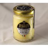 Zubereitung auf Basis von Butter mit schwarzem Trüffel - Tartufi Dominici