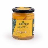 In Sirup eingelegte Pfirsiche aus Leonforte