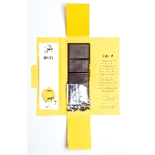 DONATO: Biologische Modica-Schokolade mit Schale der Interdonato-Zitrone