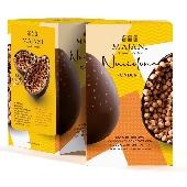 Majani Uovo di Pasqua Nocciolone con cioccolato fondente e nocciole intere