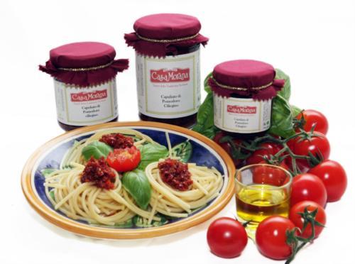 Capuliato aus Kirschtomaten - Casa Morana