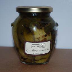 Gegrillte Zucchini in Olivenöl - Arconatura