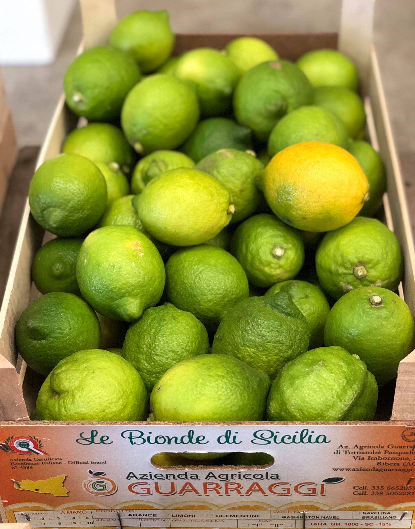 Sizilianischen Zitronen Verdelli