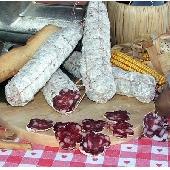 Gereifte Salsiccia aus Rindfleisch
