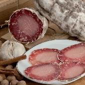 Lendenschinken mit Al Berlinghetto Salami