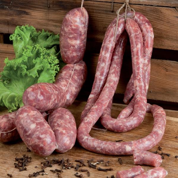 Frische Schweine-Salamini