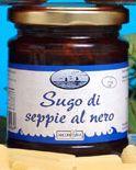 Sauce mit Tinte vom Tintenfisch - Arconatura