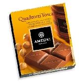 Quadrotti - Milchschokolade mit Haselnusscremef�llung