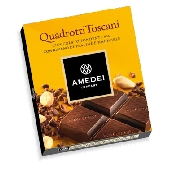 Quadrotti Amedei Zartbitterschokolade mit Pralin�-F�llung