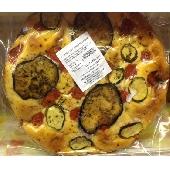 Focaccia mit Zucchini und Auberginen - Panificio Costantino