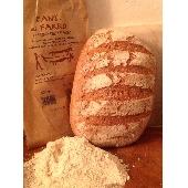 Biologisches Brot mit Dinkelmehl im Steinofen gebacken - Forno Astori
