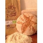 Biologisches Brot mit 5 Getreidesorten im Steinofen gebacken - Forno Astori