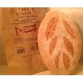 Biologisches Brot mit Kamut Mehl im Steinofen gebacken - Forno Astori
