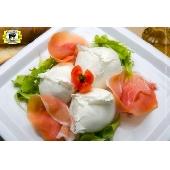 Büffelmilch Mozzarella Bocconcini di Bufala Campana aus Battipaglia - Caseificio Esposito