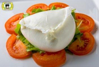 Mozzarella di Bufala Campana aus Battipaglia - Aversana Buffelmozzarella - Caseificio Esposito