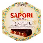 Panforte mit Zartbitterschokolade Extra - Sapori Siena