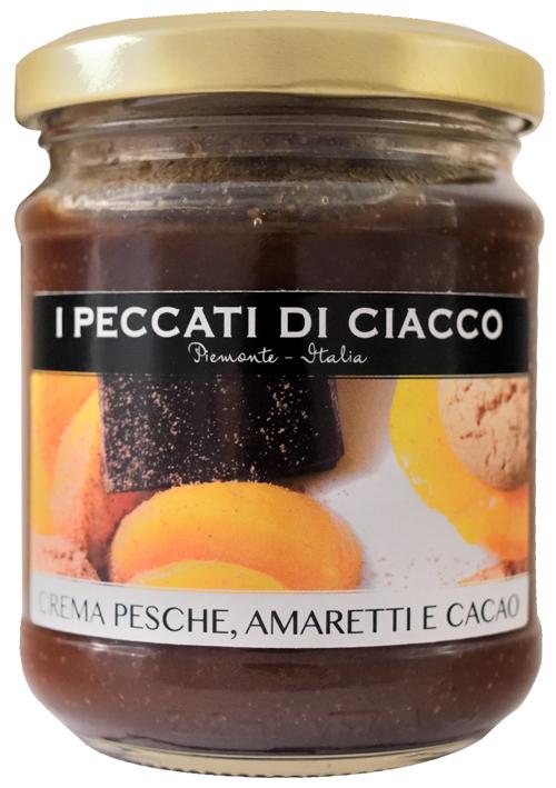 Pfirsich-Amaretti-Kakao-Creme - I Peccati Di Ciacco