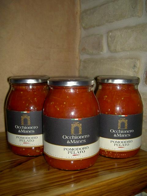 Geschälte Tomaten - Azienda Agricola Occhionero