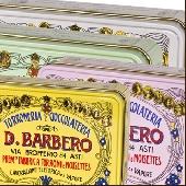 Torronfini mit Haselnüsse aus Piemonte I.G.P.Metalldose  - Torronificio Barbero