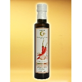 Aromatisiertes Natives Oliven�l Extra Knoblauch und Chili - Oleificio Costa