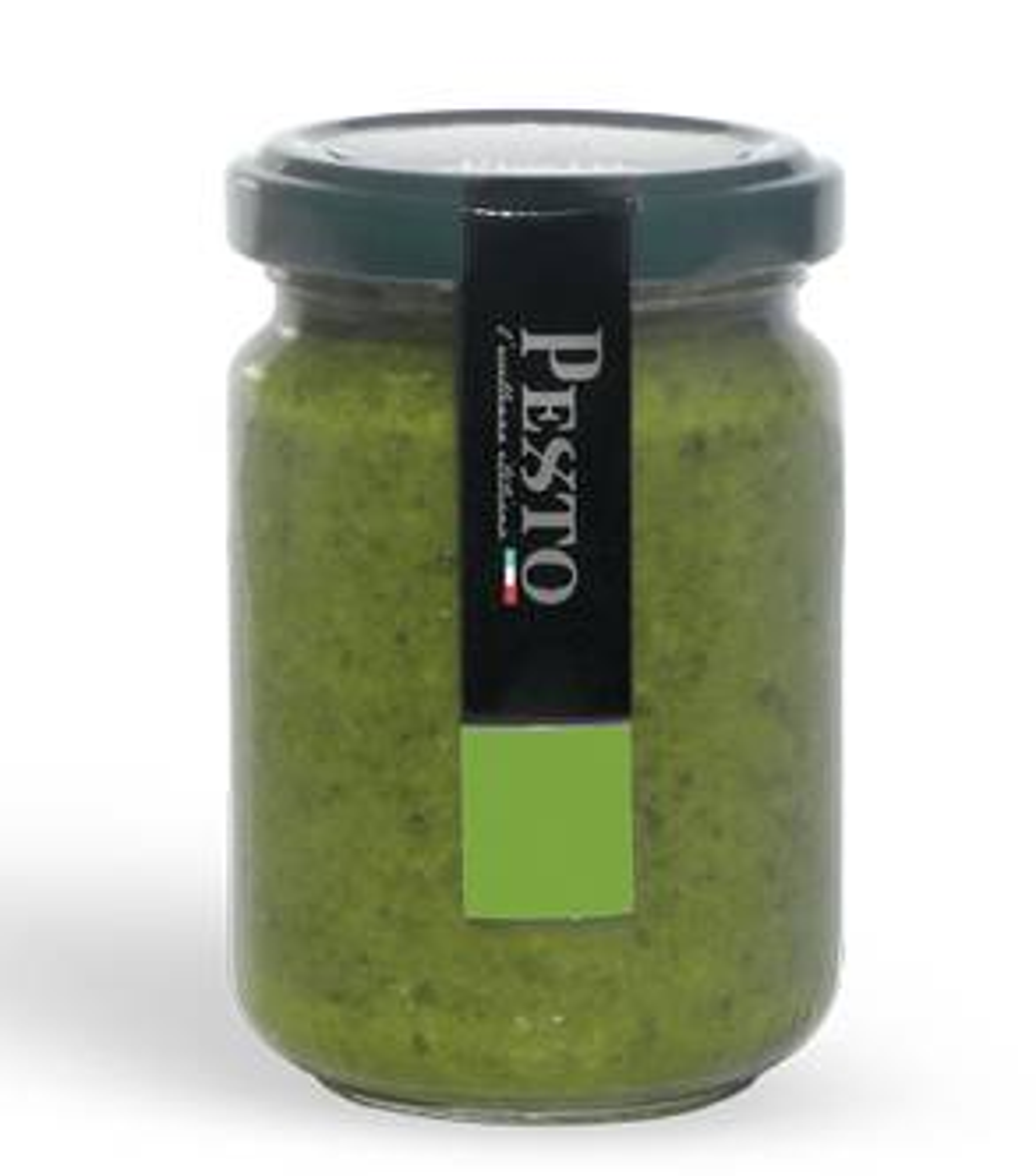 Frisches Pesto genovese ohne Knoblauch mit parmigiano reggiano 25 monate - Pexto per Amore