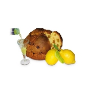 PANCIÜC (Panettone) Zitronen aus Sorrento IGP mit Zitronenlikör - Pasticceria Aliverti
