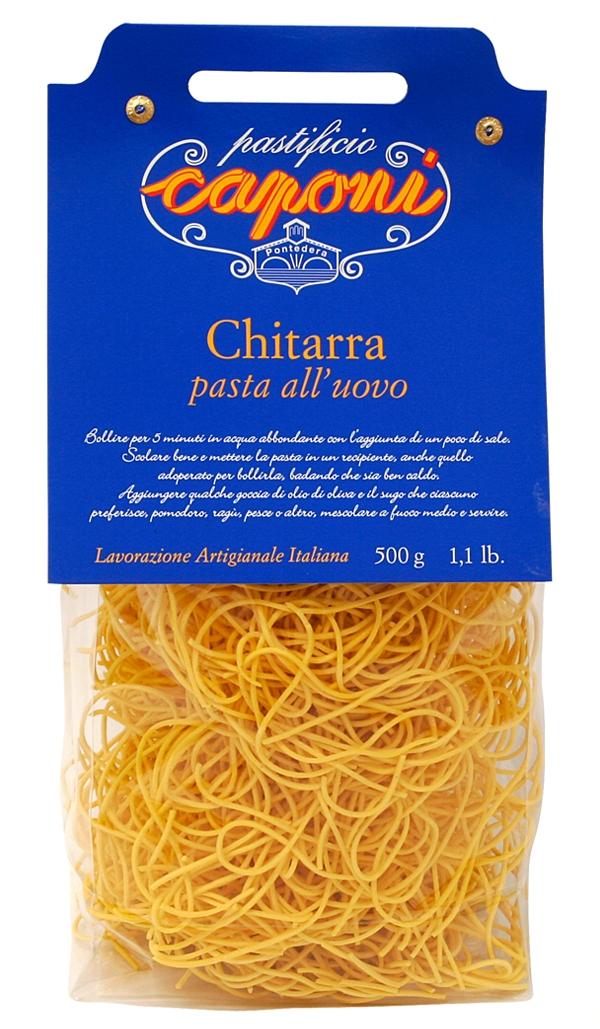 Spaghetti alla Chitarra (Eiernudeln) - Caponi