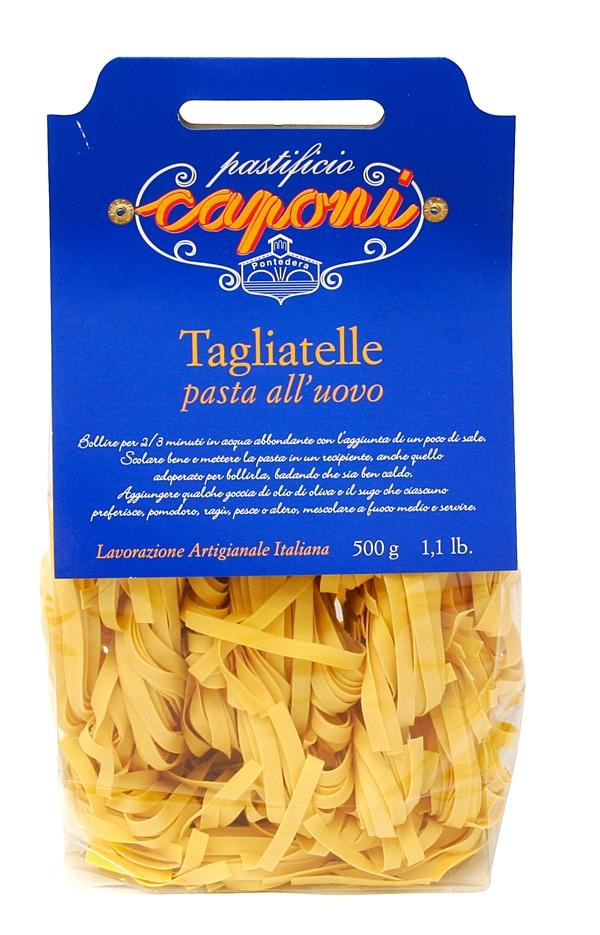 Tagliatelle (Eiernudeln) - Caponi