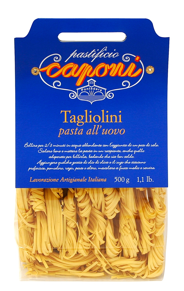 Tagliolini (Eiernudeln) - Caponi