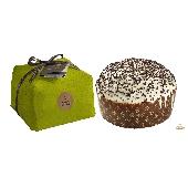 Panettone mit Fr�chten: Birne und Schokolade - von Hand gewickelt - Fiasconaro