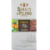 Cioccolato Extra Fondente 70% Ghana – Baratti & Milano